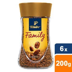 Tchibo - Family Löslicher Kaffee - 6x 200g