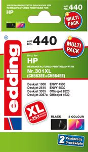 EDDING Doppelpack 2 HP 301XL black+color