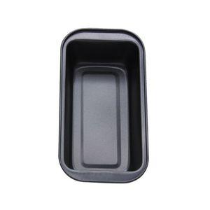 Brotbackform und Kastenform, Brotbackform Antihaftende Backform Kuchenform Rechteckige Toast Box Antihaftende Backform für Kuchen und Brote -Black