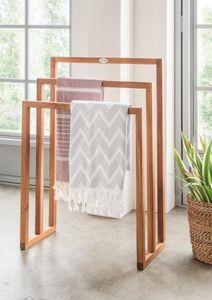 Spa Handtuchhalter Badezimmer Teakholz Handtuchstange Designermöbel