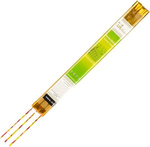 XXL Räucherstäbchen Citronella Duft (Chinesische Räucherstäbchen, ca. 50cm Höhe), Alternative zur Citronella Duftkerze oder Lampenöl