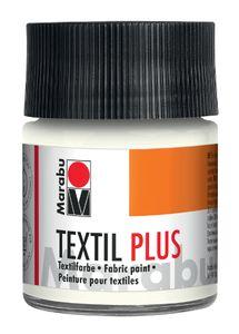 """Marabu Textilfarbe """"Textil Plus"""" weiß 50 ml"""