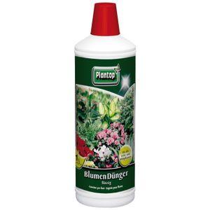 Plantop Blumendünger flüssig Grün- & Blühpflanzen, NPK-7+3+6 chloridarm, 1 Liter