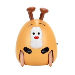 Buddifans elektronisches Haustier-Babyspielzeug mit 8 verschiedenen Emotionen Interaktiver Roboter-Hund Lernspielzeug Automatisch nach Hindernisvermeidung Intelligentes Haustier fuer Kinder ab 3 Jahren
