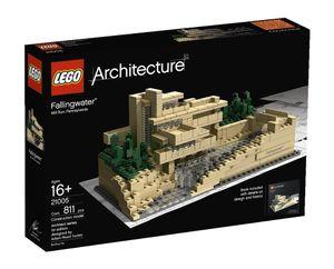 Lego Fallingwater Architecture, 25,6 cm, 16 Jahr(e), 815 Stück, Multi