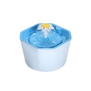 Katzen-Trinknäpfe 1,6L automatischer Katzenwasserbrunnen Elektrischer Trinkschalen Spender für Haustiere mit Drei Trinkwassermodi + Dreischicht Filtersystem