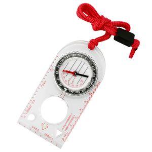 Orientierungslauf Kompass Navigationskompass Raffiniertes transparentes Acryl Jagd Milit?r