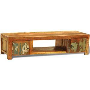 Hochwertigen TV-Möbel TV-Schrank mit 2 Türen Altholz Vintage