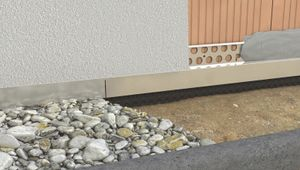 PROTEKTOR Noppenbahnprofil für den Außenputz ab 12mm 250cm 10 Stück