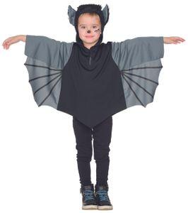 Rubies 12307- Fledermaus Kinder Kostüm * Karneval * Halloween * 92 - 128 CAPE - 116