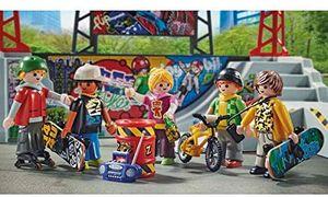 Playmobil City Action 70168 Skatepark mit 4 Skateboards