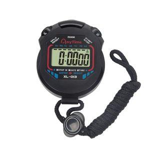 Digital Professional Handheld LCD Stoppuhr Sport Chronograph Timer mit Alarmfunktion für Kinder Runner Sport Fitness und Schiedsrichter