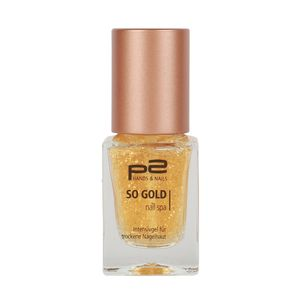 P2 Nägel Nagelpflege Cuticle Cream So Gold Nail Spa 833858, 10 ml