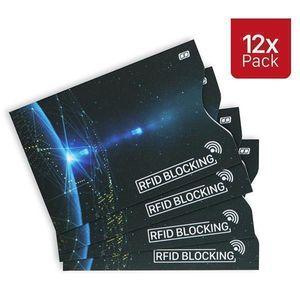 12 Stück RFID & NFC Schutzhüllen Set Kreditkarten Datenschutz Blocker Karte
