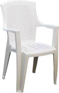 Progarden Stapelsessel Eden stapelbar Farbe weiß 722244