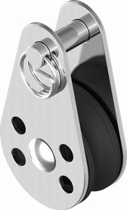 Block Miniblock Umlenkrolle Edelstahl 45mm ARBO-INOX