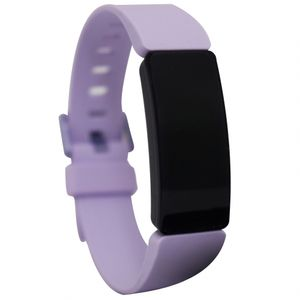 Fitbit Inspire HR - Aktivitäts-Trackerarmband - Schwarz - Lila - Violett - Silikon - Universalgröße - 50 m