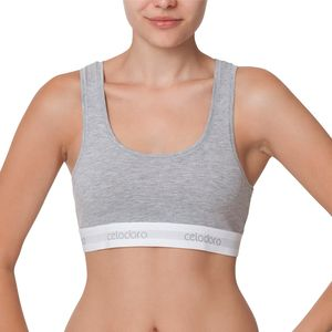 Celodoro Lady Underwear - Damen Bustier - Grau S