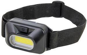 ANSMANN Akku LED Kopflampe - LED Arbeitsleuchte mit 125 Lumen - Stirnlampe zum Radfahren Joggen Hund