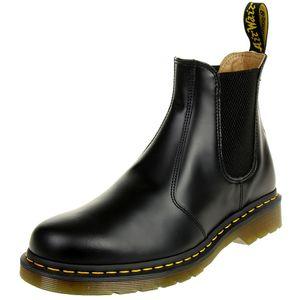 Dr. Martens 2976 44447001 Ys Smooth Black Schwarz Chelsea Boot, Groesse:41 EU / 7 UK / 8 US