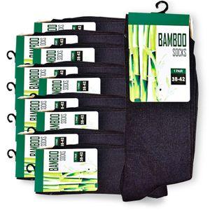5x Paar Premium Bambus -Viskose Socken gegen Schweiß, Bambussocke, 38-42