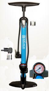 Standpumpe für Auto- Dunlop- und Sclaverantventil CBK-MS Fahrradpumpe 12 Bar