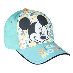 Disney Mickey Maus Kinder Basecap Baseball Kappe Mütze Hut Türkis Gr. 51
