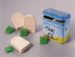 Haba konservierte Holzteebeutel (5,5 x 4 x 5 cm) 5-teilig