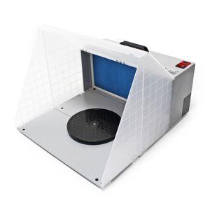 Airbrush Zubehör Absauganlage 4m³ / min Farbe Filter Farbnebel erweiterbar