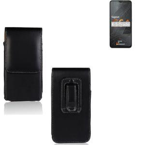 Kompatibel mit Gigaset GS4 Holster Gürtel Tasche Gürteltasche Schutzhülle Handy Tasche Schutz Hülle Handytasche Smartphone Case Seitentasche