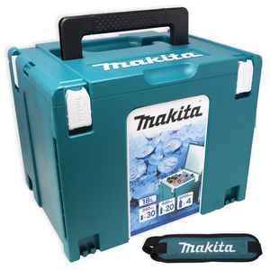 Makita Kühlbox 18 l MAKPAC Gr. 4 isoliert | Kühltasche Wärme | + Schultergurt