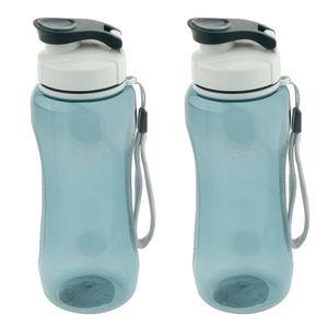 Sportwasserflasche BPA Frei Kunststoff Running Bike Getränke Für Erwachsene \\u0026 Kinder 720ml