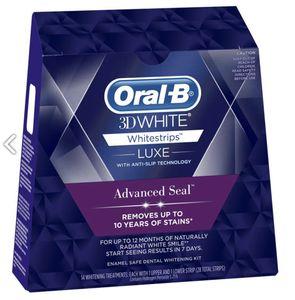 Oral-B 3DWhite LUXE- Zahnaufhellungsstreifen - 14 Beutel (28 Streifen)