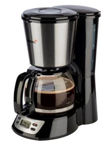 Korona 12113 Kaffeemaschine, klein Single mit Timerfunktion