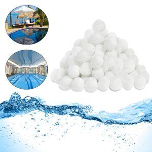 LZQ Filter Balls 1400g ersetzen 50 kg Filtersand, Filterbälle für Pool, Schwimmbad, Filterpumpe, Aquarium Sandfilter
