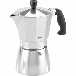 GEFU 160-80 Espressokocher LUCINO 6 T, silber