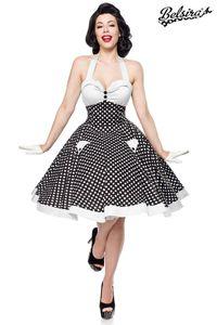 Vintage Retro Rockabilly Swing Kleid in schwarz/weiß Größe XXL (2XL) = 44