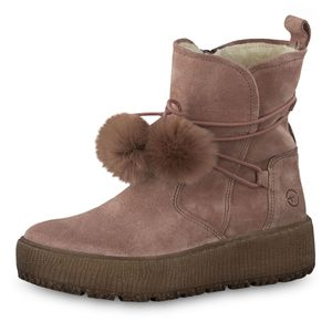 TAMARIS Damen Plateau Stiefeletten gefüttert Rosa, Schuhgröße:EUR 41