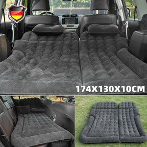 2 in 1Aufblasbare Matratze Bett Luftmatratze Luftbett Reisebett für Auto Rücksitz inkl. Aufbewahrungstasche