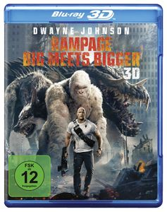 Blu-ray 3D Rampage Big meets bigger