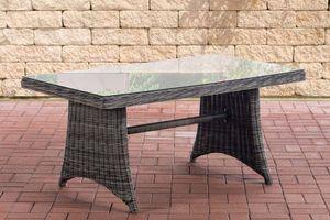 Tisch Sorano 5mm  CLP Farbe: Schwarz