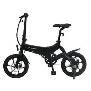 ONEBOT S6 16 Zoll Klapprad E Bike Fahrrad für Erwachsene, Jugendliche, bis 120 kg, 36V, 250W, 25 km/h (Schwarz)