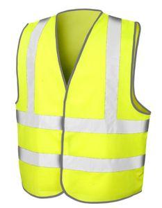 Herren Motorway Vest /  nach ISOEN20471:2013 - Farbe: Fluorescent Yellow - Größe: S/M