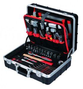 Tixit Aluminium-Werkzeugkoffer Elektriker 125 tlg., 60750