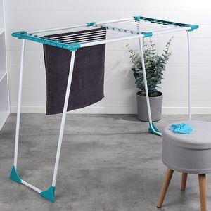 Ausziehbarer Wäscheständer Wäschetrockner Wäschehalter Wäscheaufhänger 20m