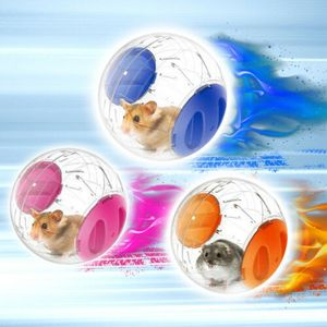 3 Stk Haustier Nagetier Mäuse Jogging Hamster Spiel Plastik Übung Ball Spielzeug