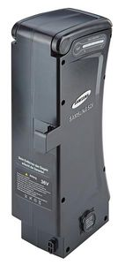 Samsung Ersatzakku Side Click mit Gehäuse für Elektrofahrrad Li-Ionen 36V/ 12,0 Ah (438Wh) Ladedauer ca. 6 h