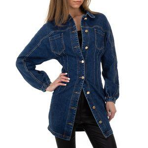 Ital-Design Damen Jacken Jeansjacken Blau Gr.l/40