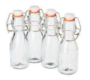 VBS Mini-Bügelflaschen, 4 Stück, à 100 ml
