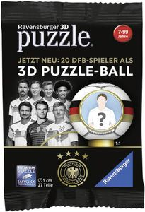 Ravensburger 11 707 9 3D Puzzle-Ball Blindpacks WM 2018 (Lizenz DFB)